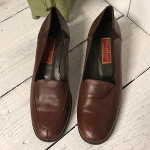 Cole Haan Brown City Loafers Womans 8.5 B